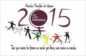 MARCHA MUNDIAL DE LAS MUJERES- 2015